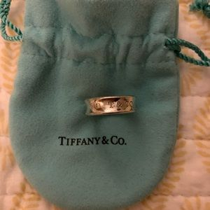 Tiffany and Co. 1837 ring